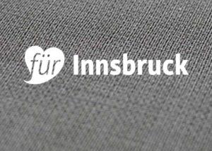 """Portfolio Logo """"Für Innsbruck"""""""