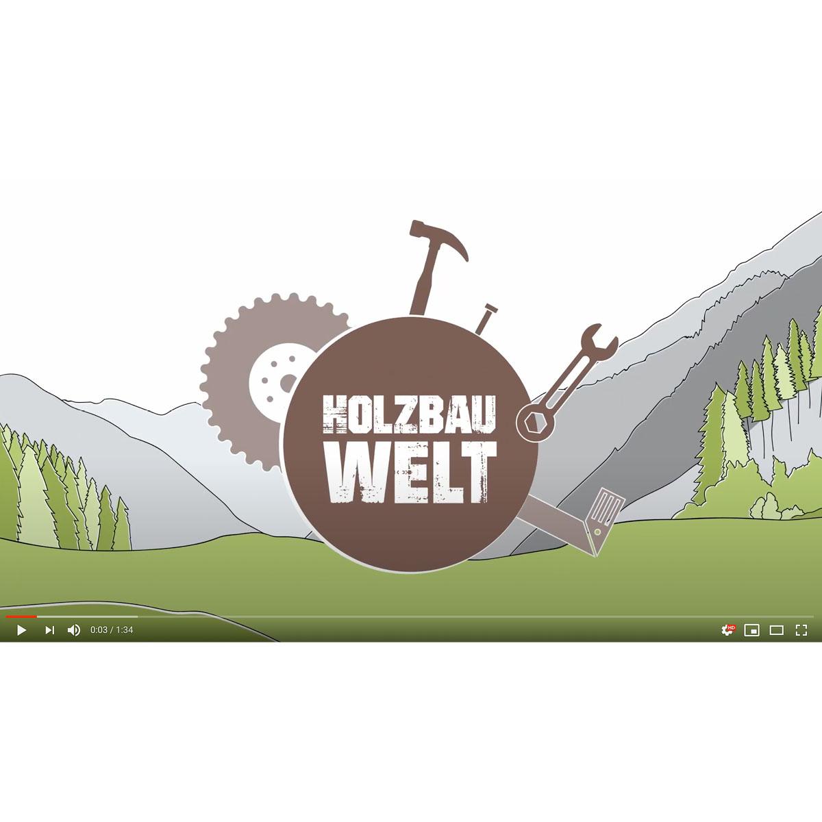 "Standbild ""Holzbauwelt"""